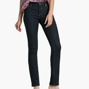 Lucky Brand Hayden Straight Midrise Slimming Jean